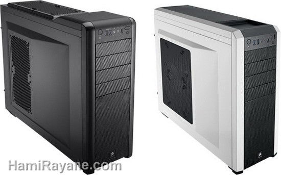 CORSAIR CASE Carbide Series 500R - BLACK - WHITE