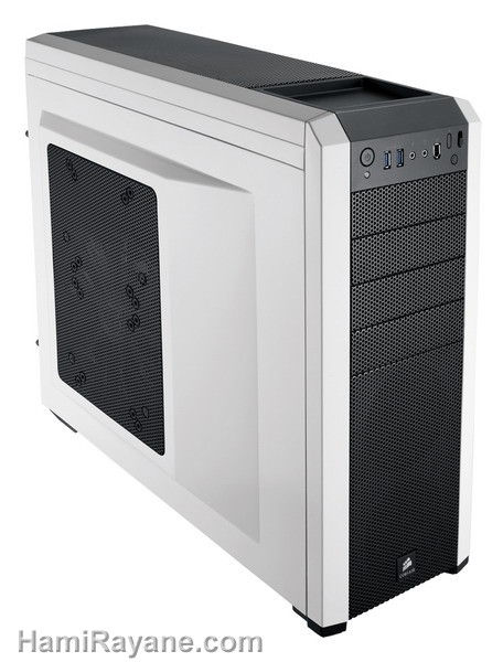 کیس کورسیر CORSAIR CASE Carbide Series 500R - BLACK - WHITE