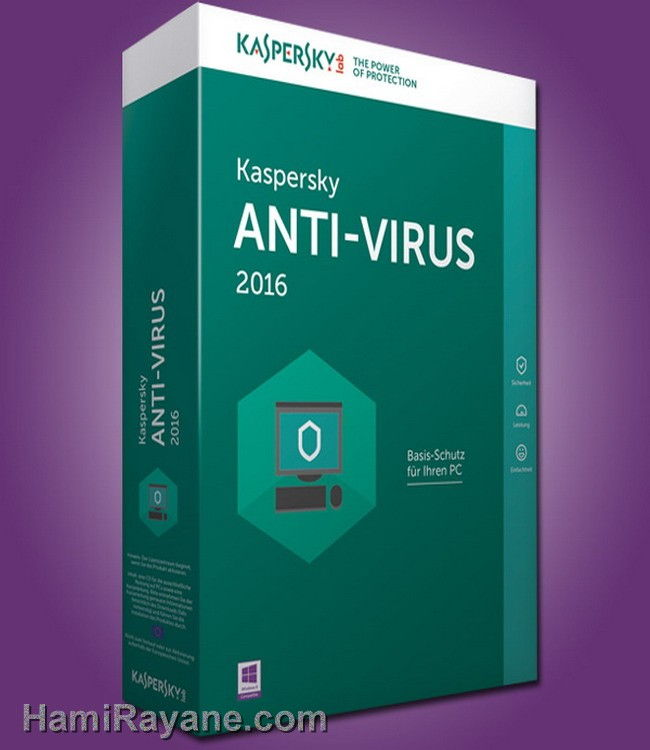 Licenses Kaspersky Antivirus Original 4 PC 2016