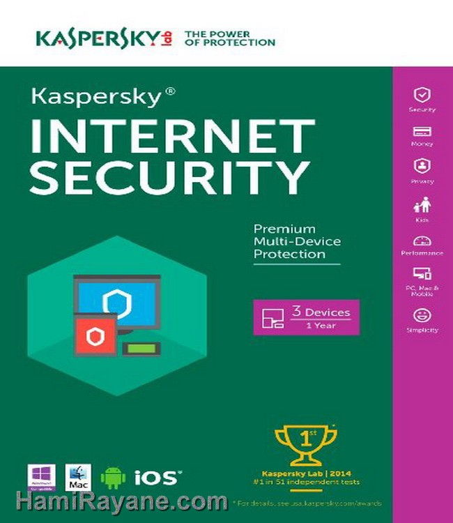 Licenses Kaspersky Antivirus Original 2 PC 2016