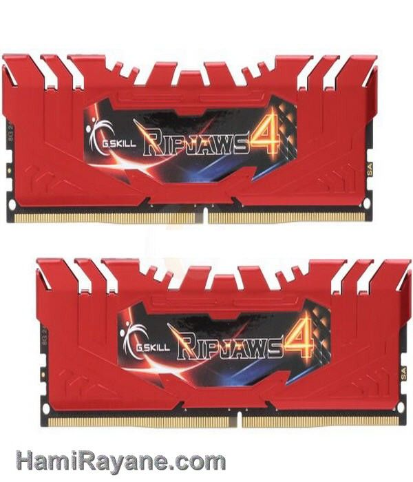 رم جی اسکیل دی دی آر فور G.SKILL - DDR4 - Ripjaws 4 series 16GB (2 x 8GB) 2800
