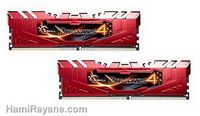 رم جی اسکیل DDR4 - G.SKILL Ripjaws 4 series 8GB (2 x 4GB) 2400