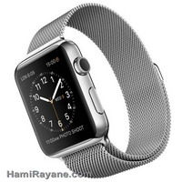 ساعت مچی هوشمند اپل واچ Apple Watch 42mm Stainless Steel Case with Milanese Loop