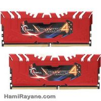 رم جی اسکیل دی دی آر فور G.SKILL - DDR4 - Ripjaws 4 series 8GB - 2400