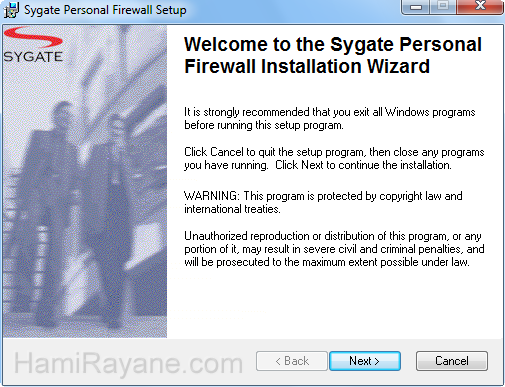 Sygate Personal Firewall 5.6.2808 Picture 1