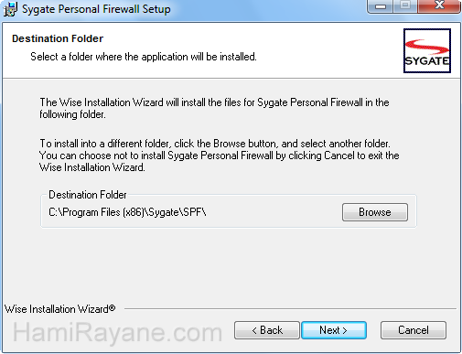 Sygate Personal Firewall 5.6.2808 Picture 3
