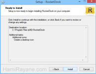 ダウンロード RocketDockの - Download RocketDock 1.3.5