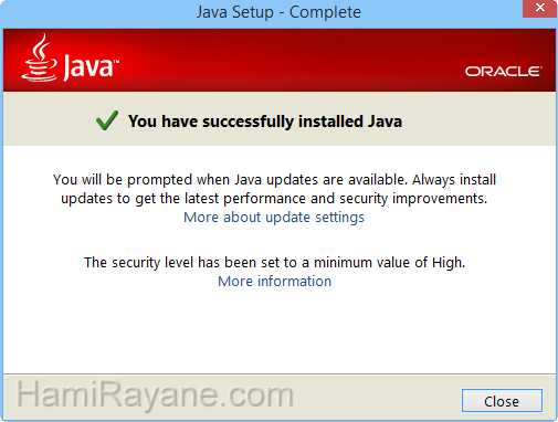 Java Runtime Environment 8.0 build 201 (32-bit) JRE Immagine 3