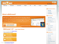 BitComet 1.55 File Sharing P2P Client