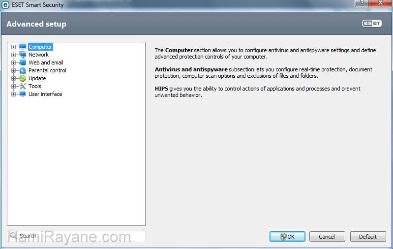 ESET NOD32 AntiVirus 12.1.31.0 (32bit) Picture 2