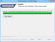 İndir TeamSpeak Client 32 - Download TeamSpeak Client 3.1.7 (32-bit)