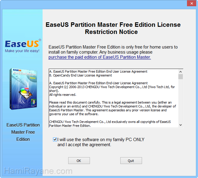 EaseUS Partition Master Free 12.8 Picture 1