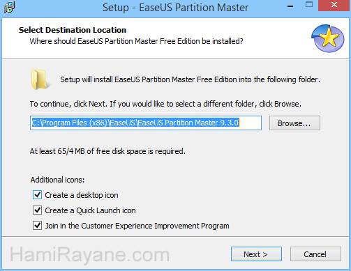 EaseUS Partition Master Free 12.8 Picture 2