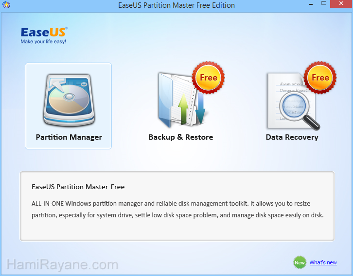 EaseUS Partition Master Free 12.8 Picture 6