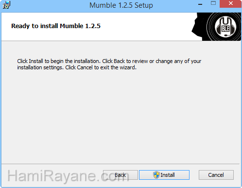 Mumble 1.2.19 Picture 4